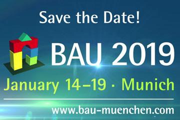 Puertas Padilla подтвердил свое участие в BAU, Мюнхен 2019